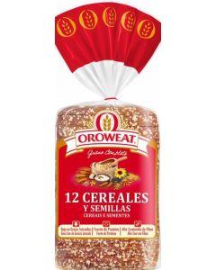 Pan de molde integral cereales oroweat 680g