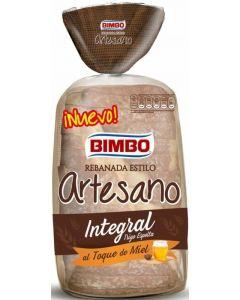 Pan de molde artesano int espelta miel bimbo 550g