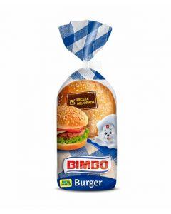 Pan de hamburguesa bimbo pack de 4 unidades de 55g