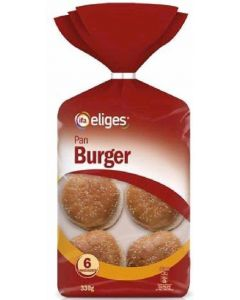 Pan de hamburguesa ifa eliges pack de 4 unidades de 82g
