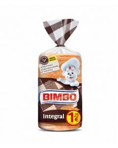 Pan de molde integral bimbo 400g
