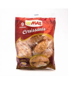 Croissant mantequilla mas pack de 9 unidades de 25g