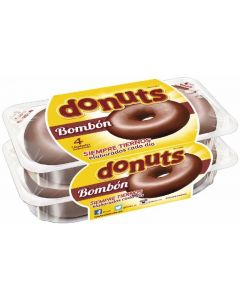 Berlinas bombón donut 4 unidades