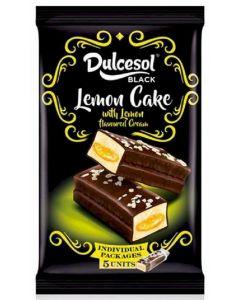 Bizcocho de limón dulcesol pack de 5 unidades de 45g