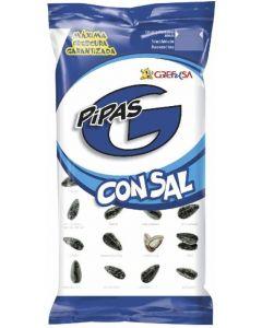 Pipas con sal grefusa 165g