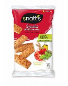 Snatts pan con sabor mediterráneo tomate y finas hierbas 110g
