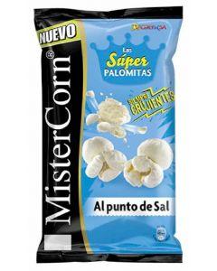 Palomitas mister corn de maíz punto sal grefusa 90g