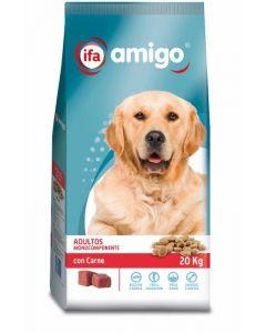Comida seca para perros carne ifa amigo 20kg