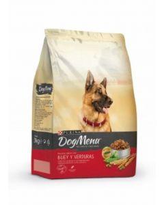 Comida seca para perros buey dog menu 3kg