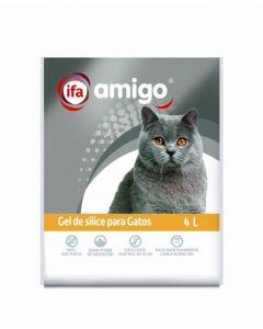 Gel para gatos deslice  ifa amigo 4l
