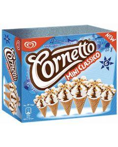 Helado cono mini clásico cornetto frigo pack de 6 unidades de 90ml