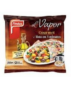 Verduras al vapor gourmet para microondas findus 350g