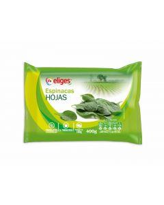 Hojas de espinacas ifa eliges 400g