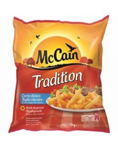 Patatas prefritas tradicionales mc cain 1kg