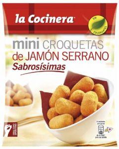 Croquetas de jamón mini la cocinera 300g