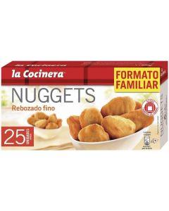 Nuggets de pollo rebozado fino la cocinera 400g