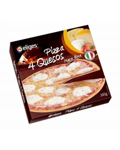 Pizza 4 quesos ifa eliges 345g