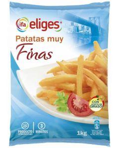 Patata prefritas extrafinas ifa eliges 1kg