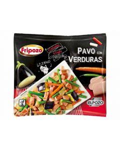 Pavo con verduras fipozo 400g
