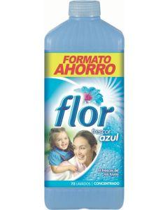 Suavizante concentrado aroma azul flor 72 dosis 1,656l