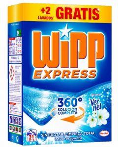 Detergente en polvo wipp 29+2 dosis 2,015kg
