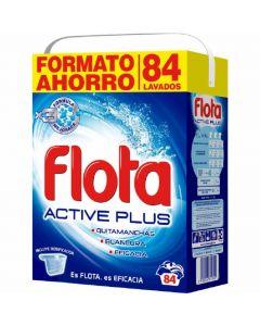 Detergente en polvo flota 84 dosis 5kg