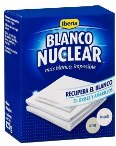 Blanqueador en polvo blanco nuclear iberia 120g