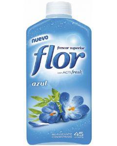 Suavizante concentrado aroma azul flor 45 dosis 1,035l
