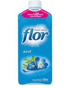 Suavizante concentrado aroma azul flor 64 dosis 1,54l