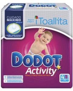 Toallitas recambio cuatro dodot activity pack de 216 unidades