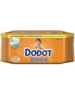 Toallitas básicas dodot pack de 60 unidades