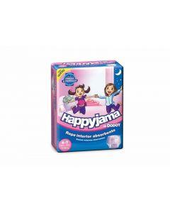 Pañal braga para niña talla 7 17-29kg happyjama dodot pack de 17 unidades