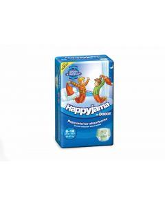 Pañal braga para niño talla 8 27-57kg happyjama dodot pack de 13 unidades