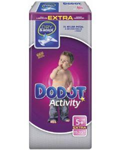Pañal talla 5 15-20kg dodot activity extra pack de 84 unidades