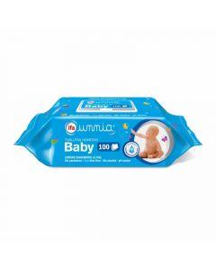 Toallitas húmedas baby ifa unnia pack de 100 unidades