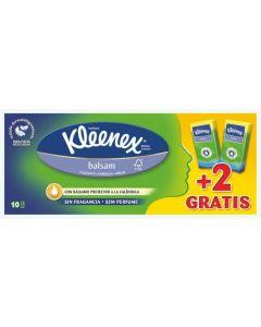 Pañuelos balsam kleenex pack de 10+2 unidades