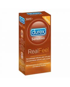 Preservativo real feel durex pack de 12 unidades