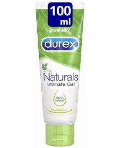 Gel íntimo lubricante durex natural 100ml