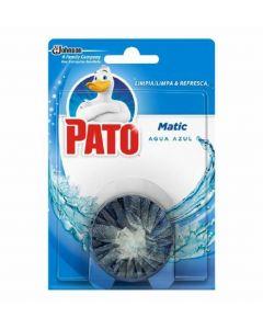 Desodorizante para wc matic para cisterna aroma agua azul pato