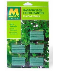 Bastoncillo plantas verdes masso 45g