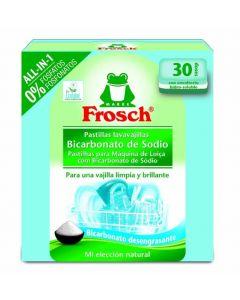Lavavajillas a máquina en pastillas todo en 1 frosch 30 dosis