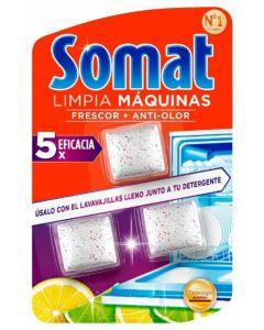 Limpiamáquina para lavavajillas somat 3 dosis