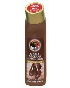 Limpiazapatos marrón búfalo líquido 50ml