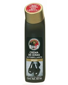 Limpiazapatos líquido negro búfalo 50ml