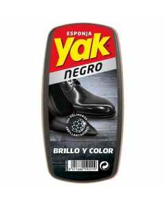 Limpiazapatos negro yak