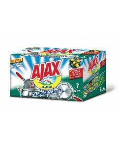 Estropajo jabón oso ajax pack de 7 unidades