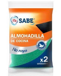 Almohadilla de cocina ifa sabe pack de 2 unidades