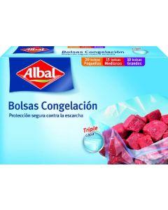 Bolsa de congelacion albal 45 unidades