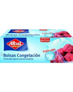 Bolsas de congelacion albal 40 unidades