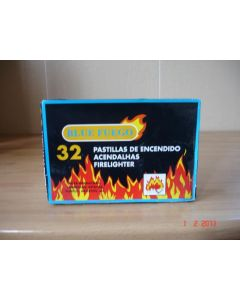 Pastillas enciende fuego blue flame